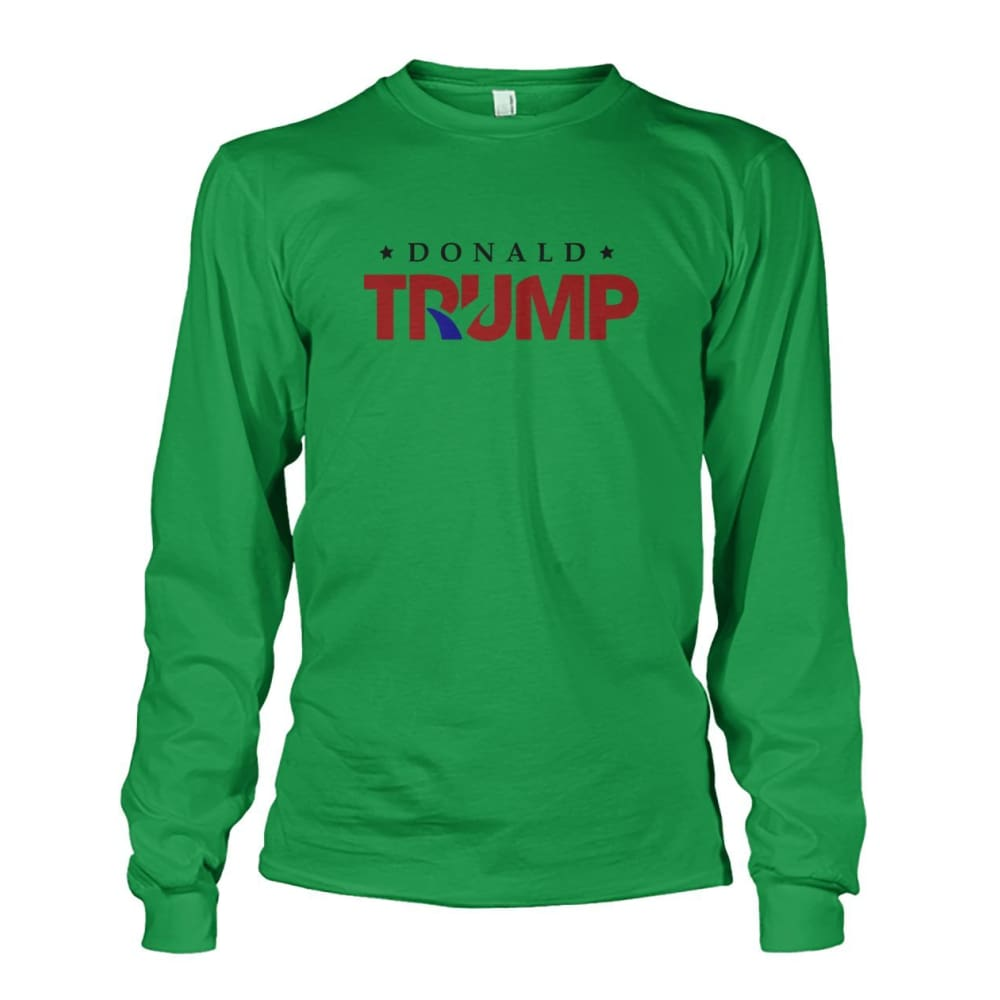 Donald Trump Long Sleeve - Irish Green / S - Long Sleeves