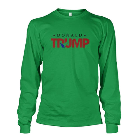 Image of Donald Trump Long Sleeve - Irish Green / S - Long Sleeves