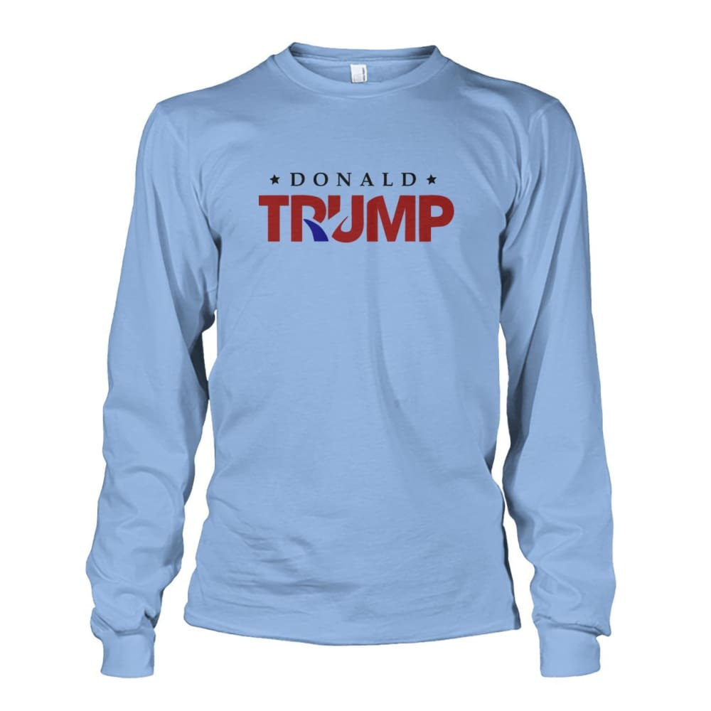 Donald Trump Long Sleeve - Light Blue / S - Long Sleeves