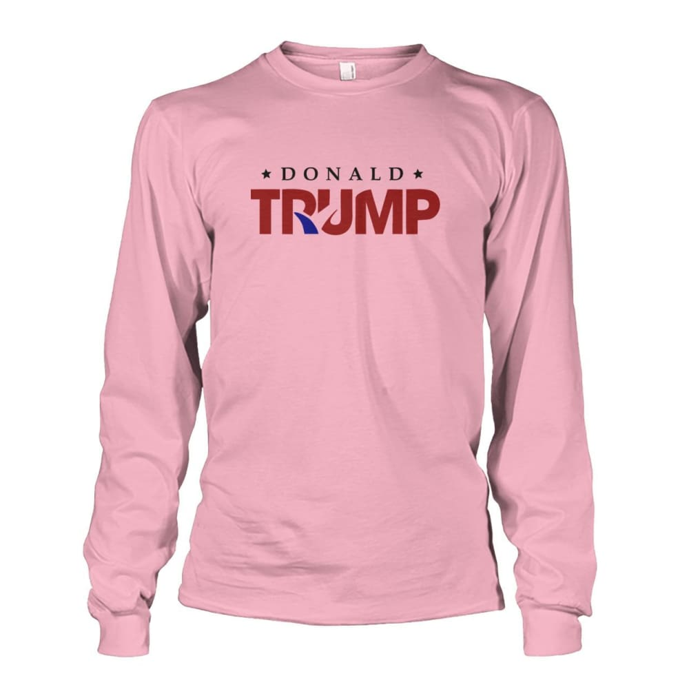 Donald Trump Long Sleeve - Light Pink / S - Long Sleeves