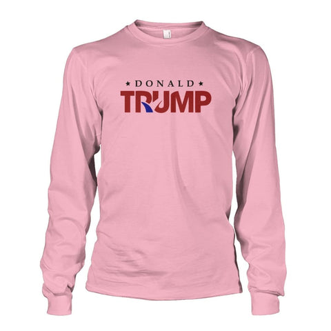 Image of Donald Trump Long Sleeve - Light Pink / S - Long Sleeves