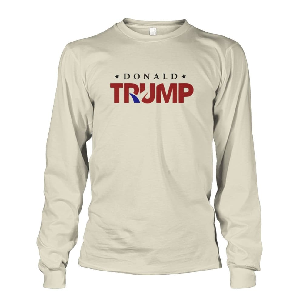 Donald Trump Long Sleeve - Natural / S - Long Sleeves