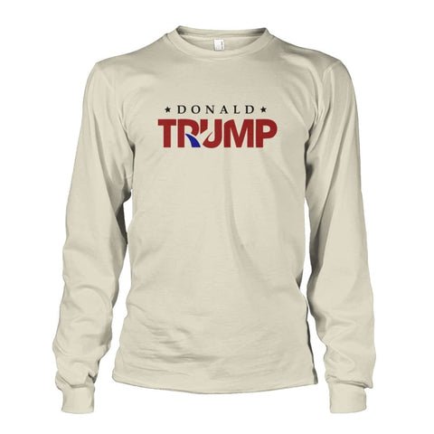 Image of Donald Trump Long Sleeve - Natural / S - Long Sleeves
