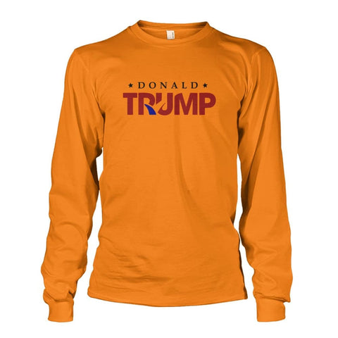Image of Donald Trump Long Sleeve - Safety Orange / S - Long Sleeves