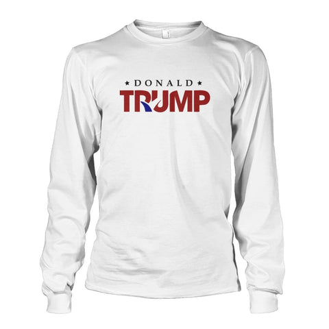 Image of Donald Trump Long Sleeve - White / S - Long Sleeves