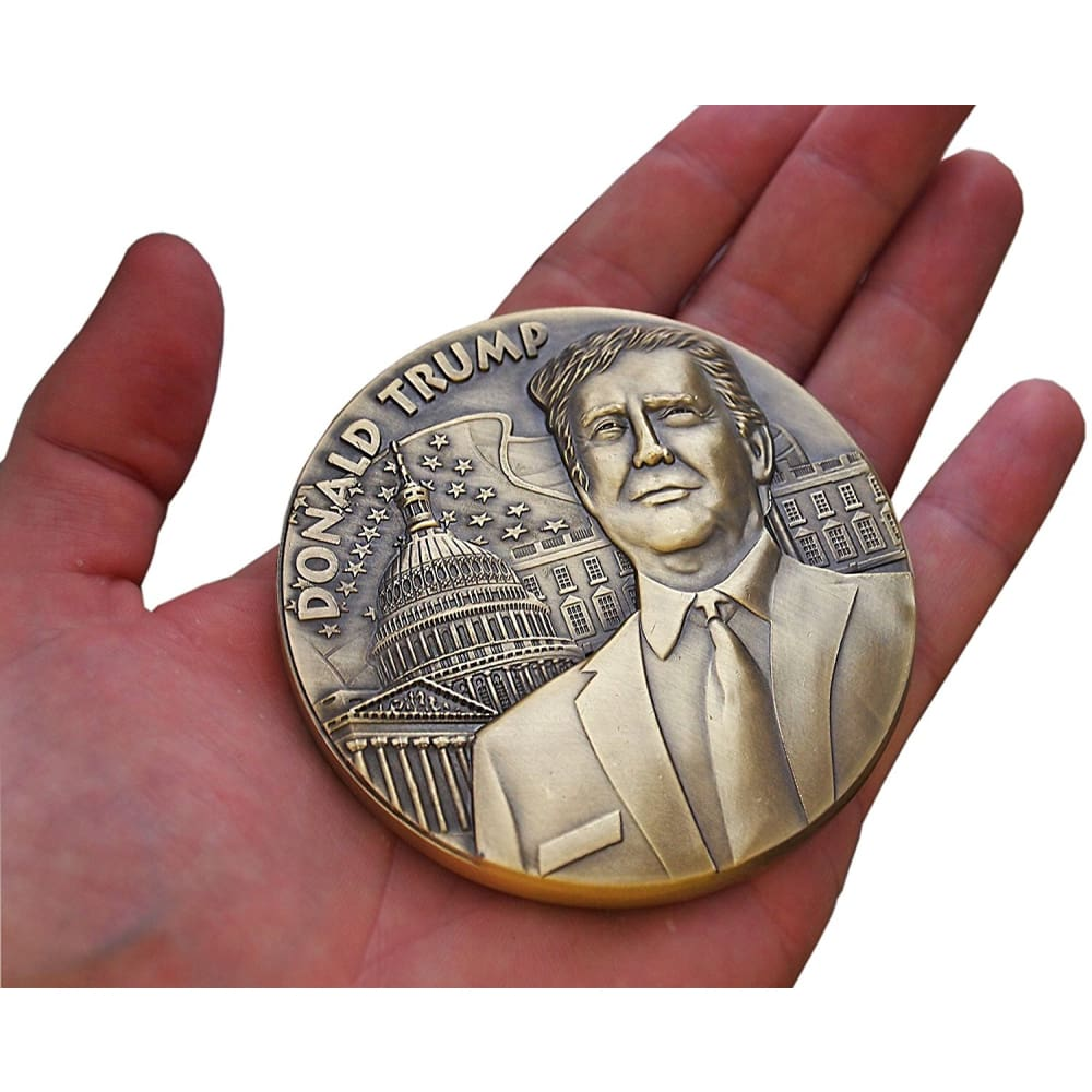 Donald Trump Presidential Eagle Commemorative Medal - Coin