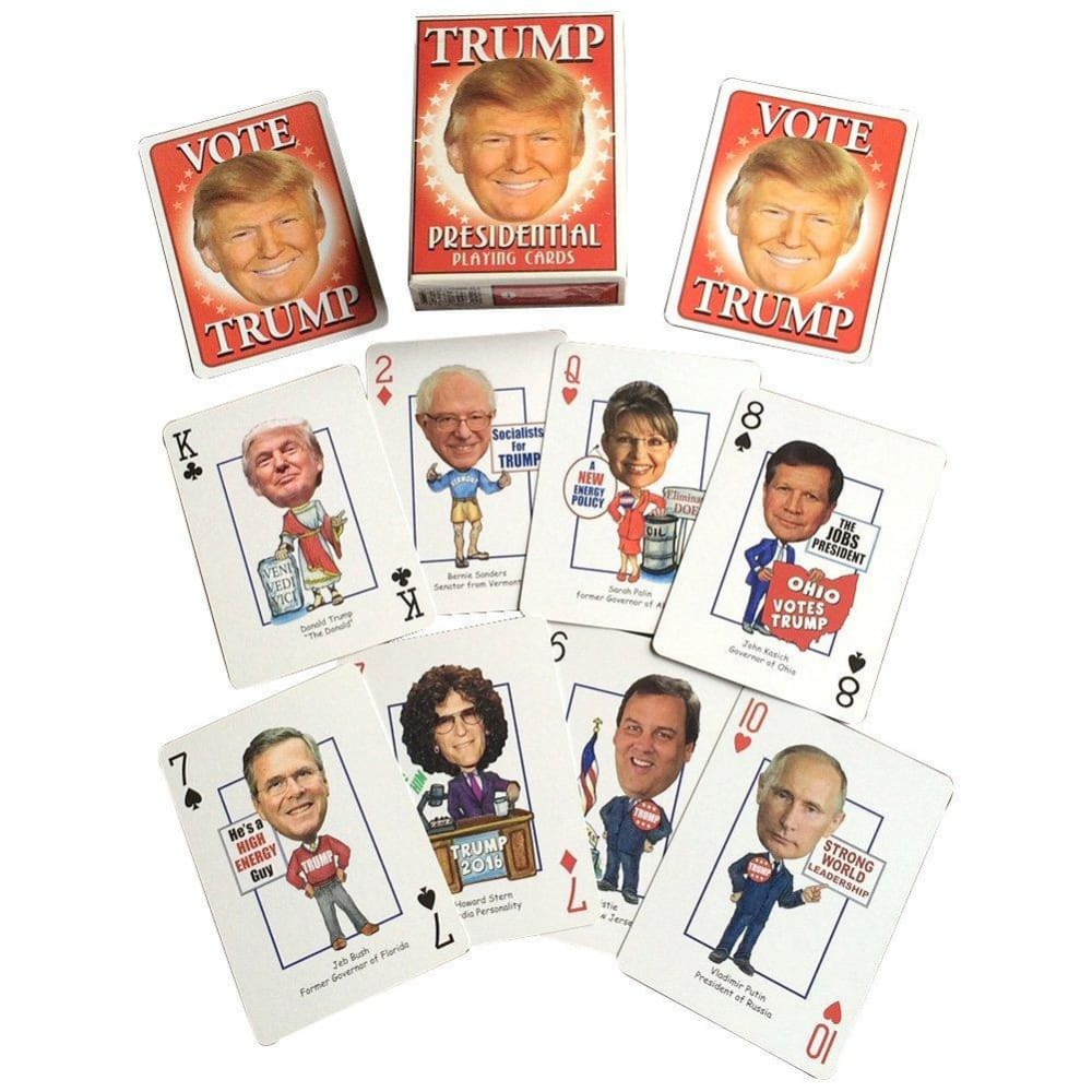 Donalds Deck - President Trump Playing Cards