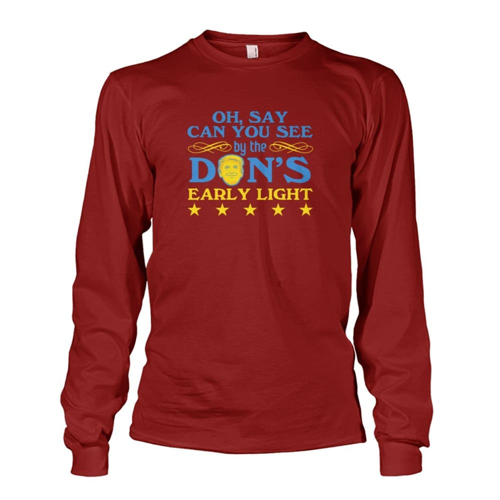 Dons Early Light Long Sleeve - Cardinal Red / S - Long Sleeves