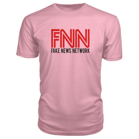 Image of Fake News Network Premium Tee - Charity Pink / S - Short Sleeves