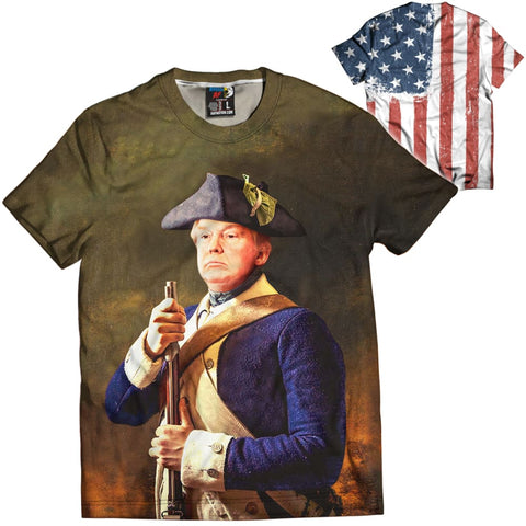 General Trump Short Sleeve - General Trump Tee / White / 3XS - Short Sleeves