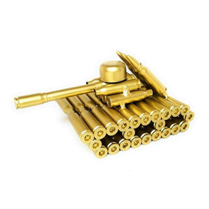 Gold Bullet Shell Metal Tank