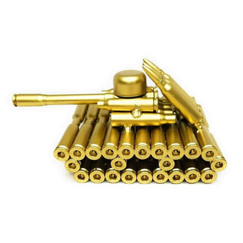 Image of Gold Bullet Shell Metal Tank
