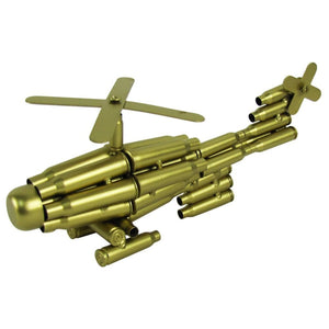 Gold Bullet Shell Military Helicopter