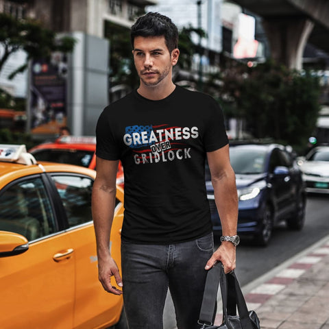 Image of Greatness Over Gridlock Tee - Short Sleeves
