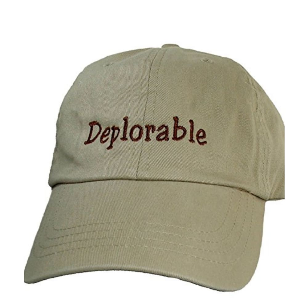 Hat: Deplorable (Tan) - Headwear