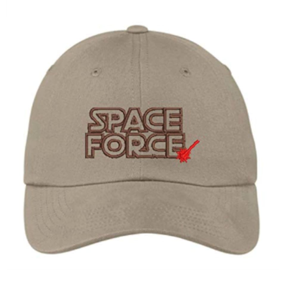 Hat: Space Force (Tan)