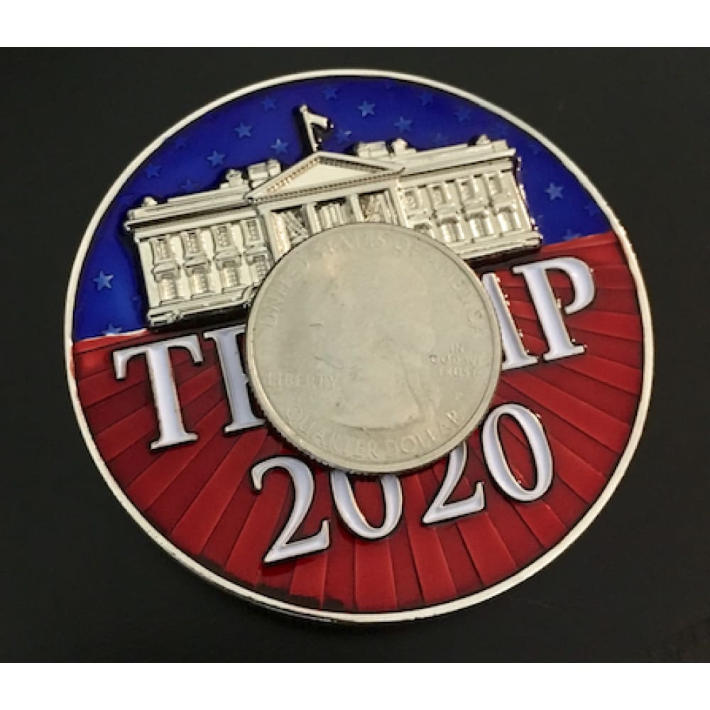 HUGE Trump 2020 Keep America Great Challenge Coin -- Amazing Details!