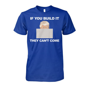 If You Build It T-Shirt - Royal / S