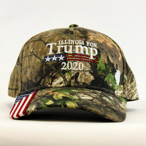 Image of Illinois For Trump 2020 Hat