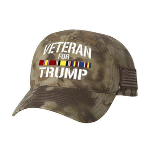 Iraq Veteran For Trump Kryptek Hat - Highlander - Hats