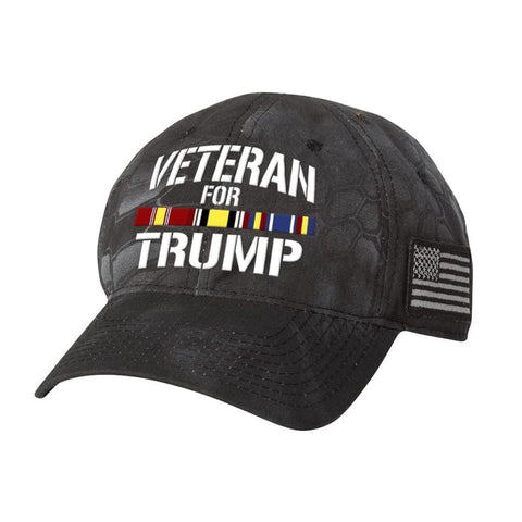 Iraq Veteran For Trump Kryptek Hat - Typhoon - Hats