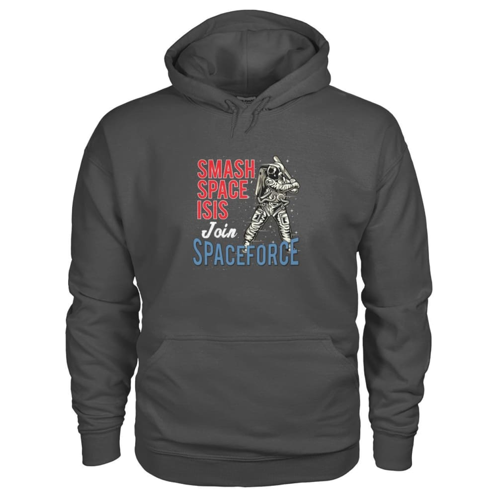 Join Spaceforce Hoodie - Charcoal / S - Hoodies