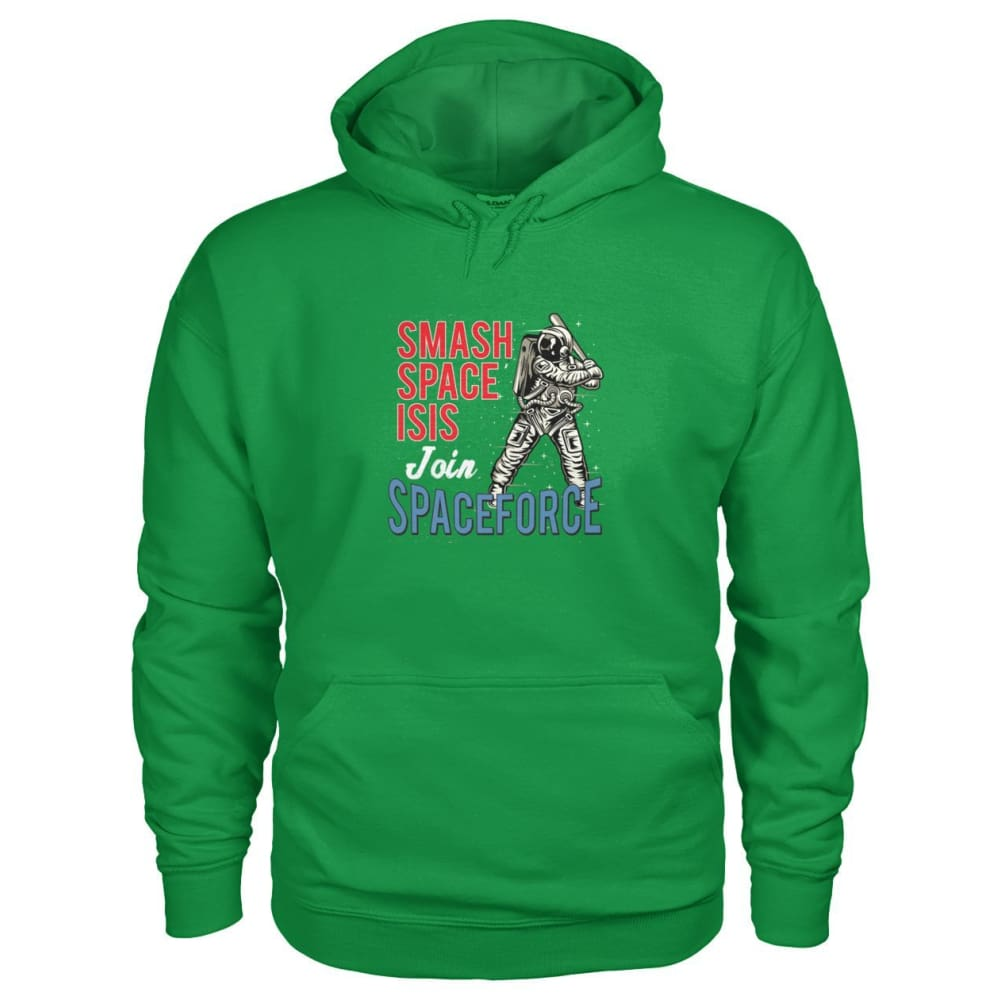 Join Spaceforce Hoodie - Irish Green / S - Hoodies