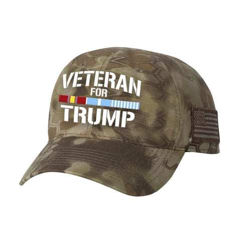 Image of Korean Veteran For Trump Kryptek Hat - Highlander - Hats