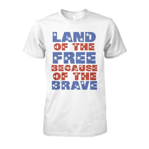 Image of Land of the Free T-Shirt - White / S