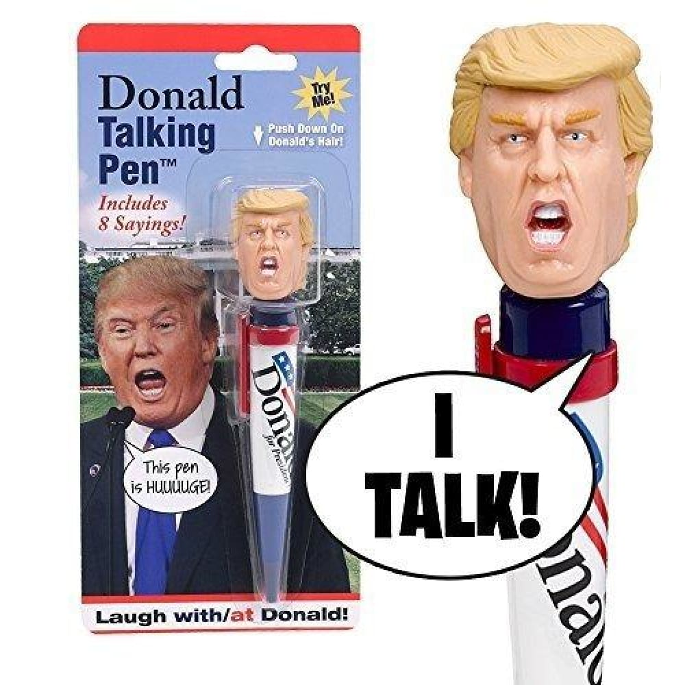 LIMITED EDITION Donald Trump Talking Pen - 8 Different Phrases