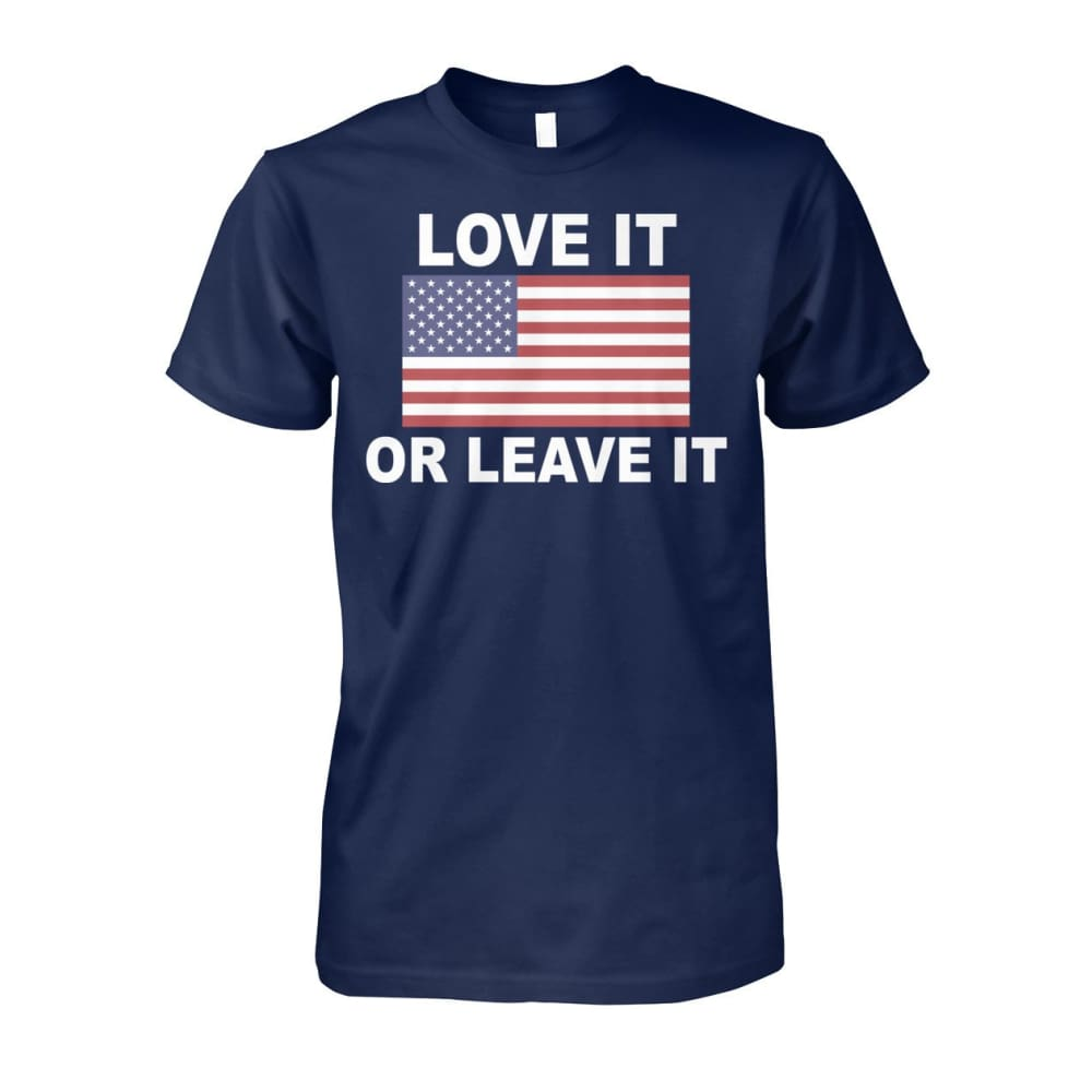 Love It Or Leave It T-shirt - Navy / S