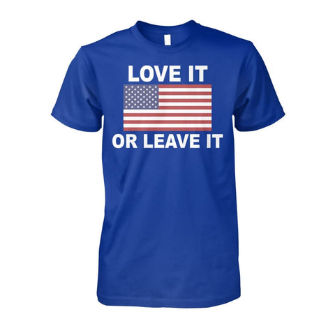 Image of Love It Or Leave It T-shirt - Royal / S