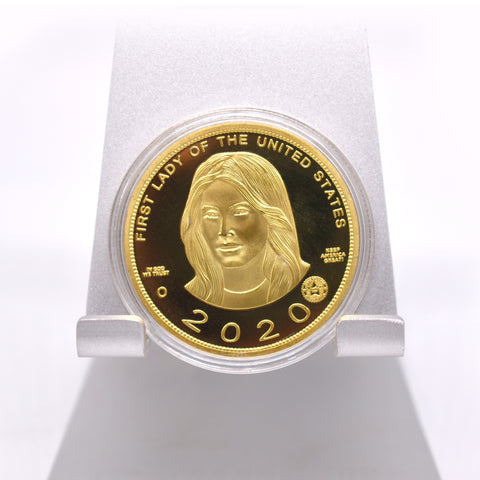 Image of Combo: Melania 2020 Gold Coin AND Bill
