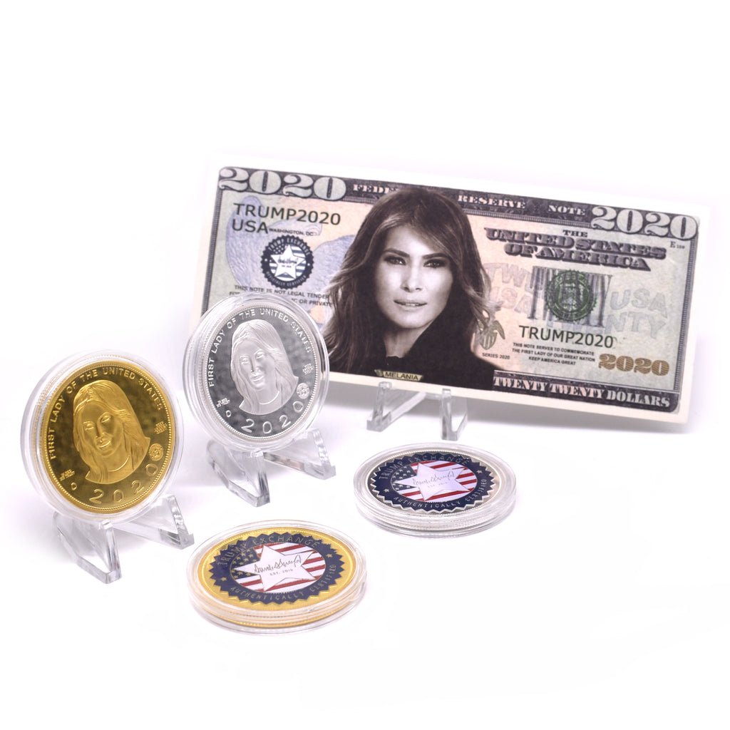 Melania 2020 Coin Set Including Bill