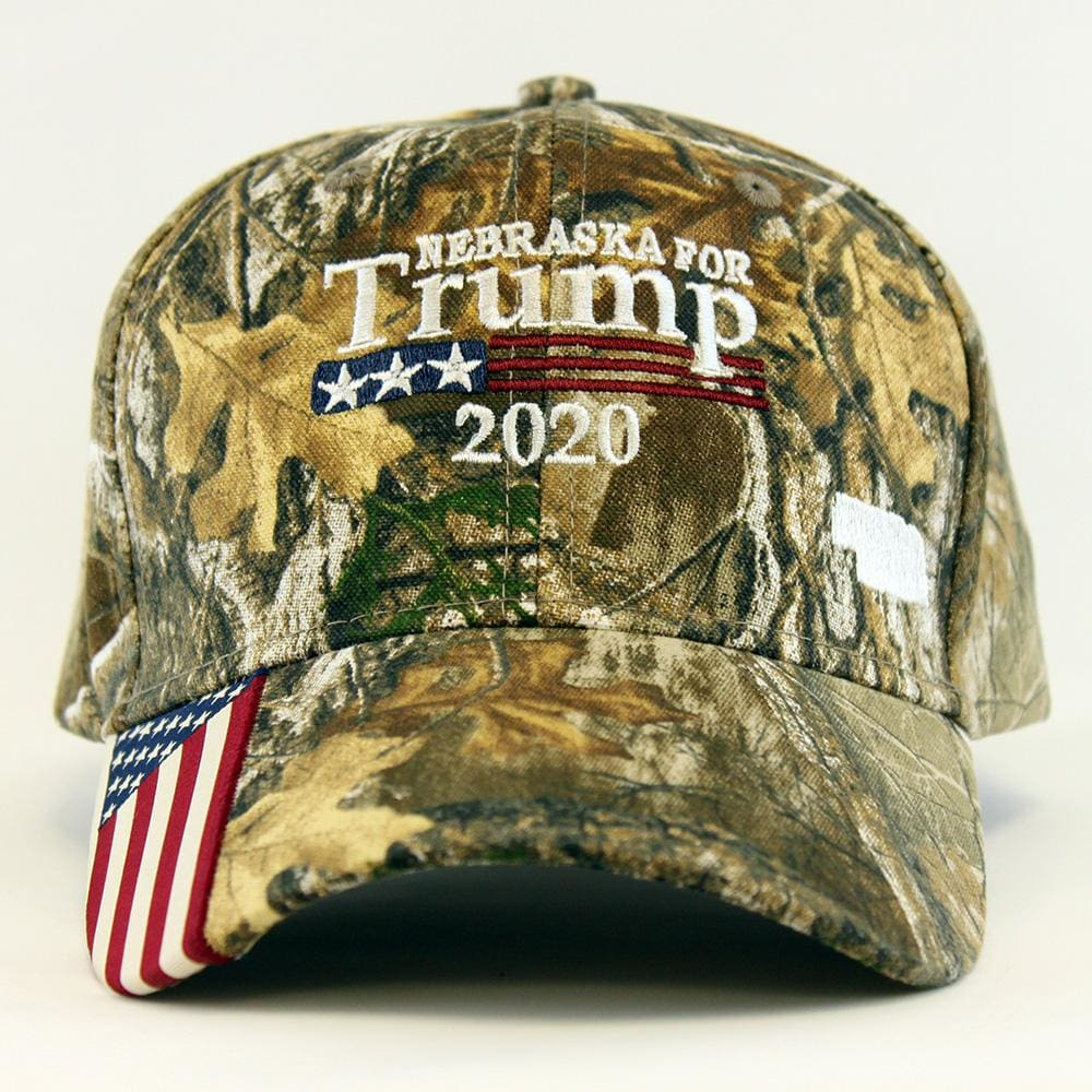 Nebraska For Trump 2020 Hat
