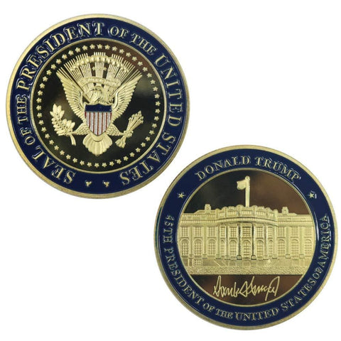 Image of NEW Trump Challenge Coin