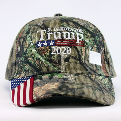 Image of North Dakota For Trump 2020 Hat