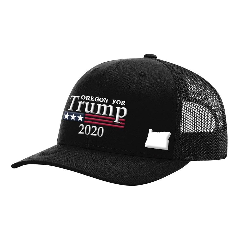 Oregon For Trump 2020 Hat - Black Hat