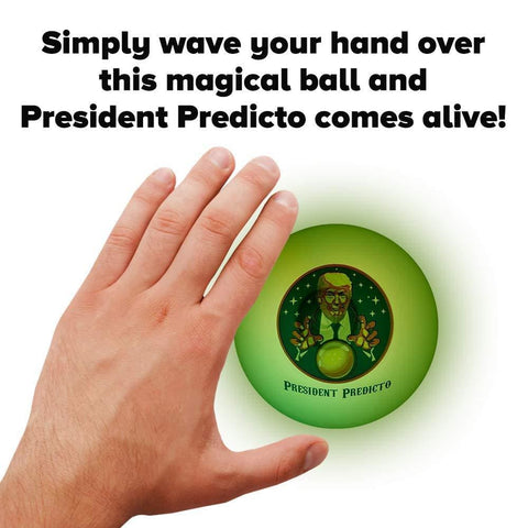 President Predicto - Like A Magic 8 Ball With Trumps Real Voice