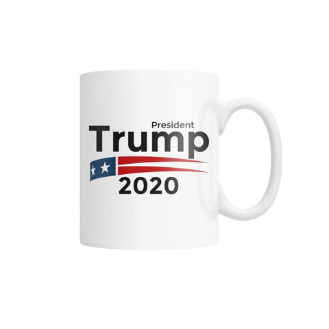 President Trump 2020 White Coffee Mug - White