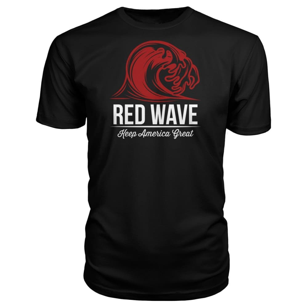 Red Wave Keep America Great Premium Unisex Tee - Black / S / Premium Unisex Tee - Short Sleeves
