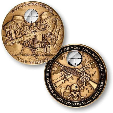Sniper Challenge Coin - Coin