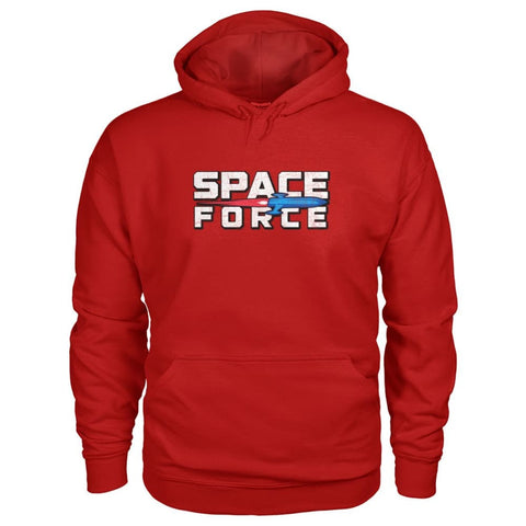 Image of Space Force Hoodie - Cherry Red / S - Hoodies