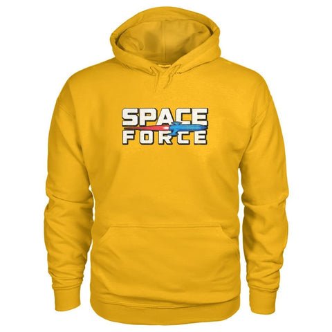 Image of Space Force Hoodie - Gold / S - Hoodies