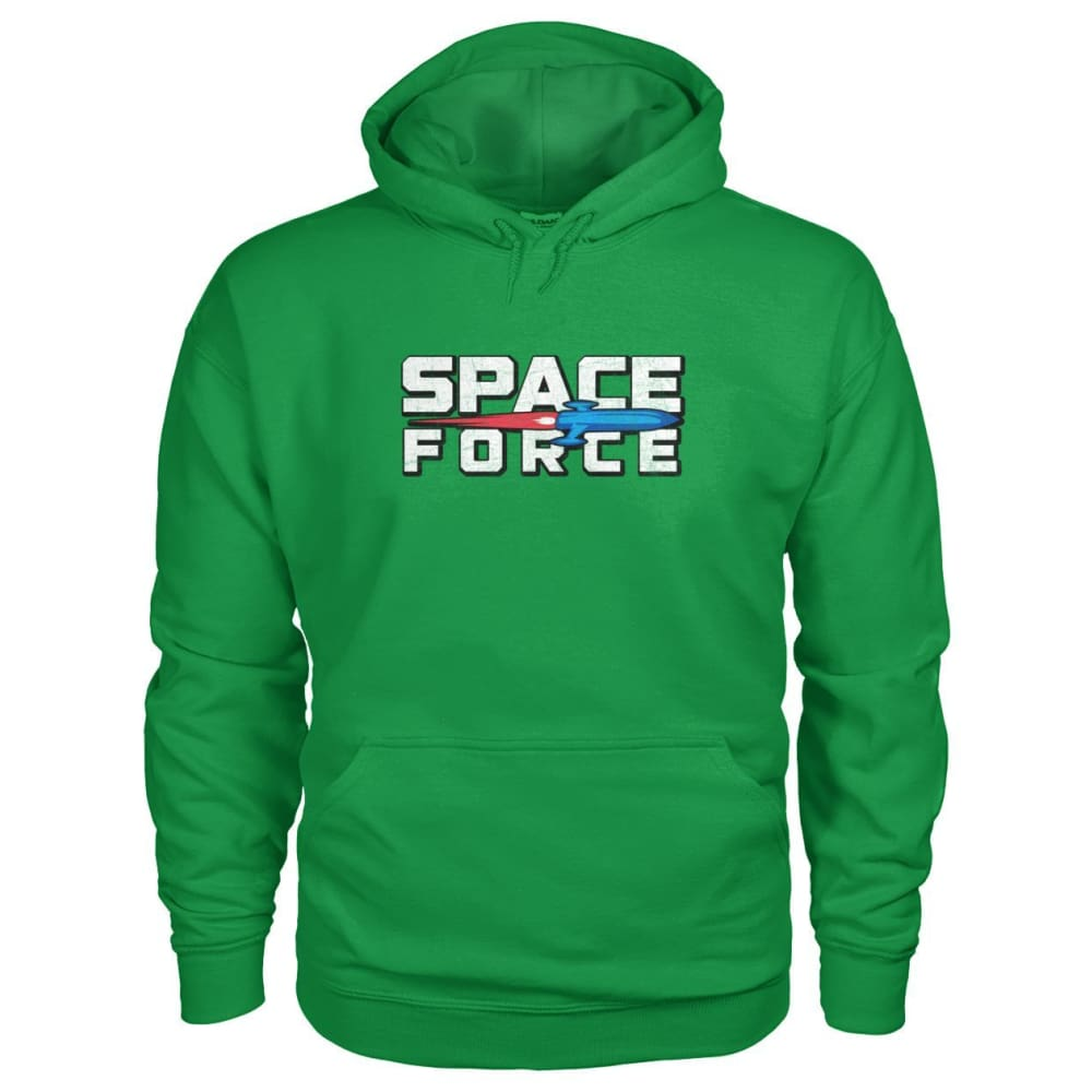 Space Force Hoodie - Irish Green / S - Hoodies