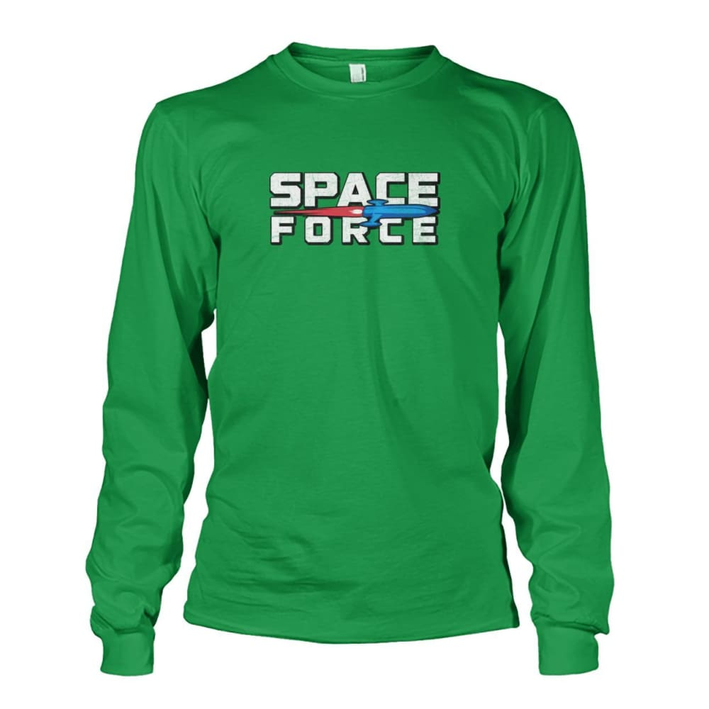 Space Force Long Sleeve - Irish Green / S - Long Sleeves