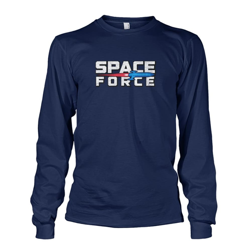 Space Force Long Sleeve - Navy / S - Long Sleeves