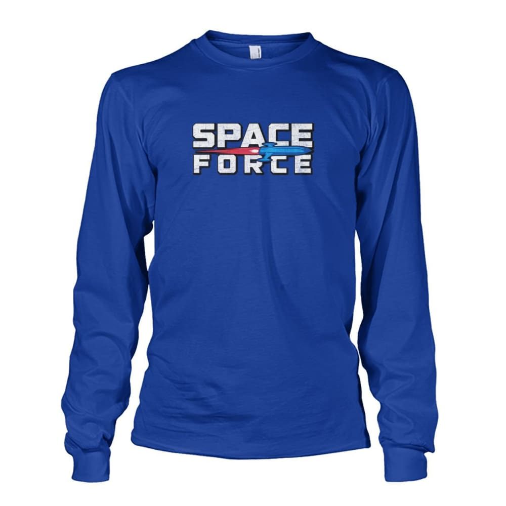 Space Force Long Sleeve - Royal / S - Long Sleeves
