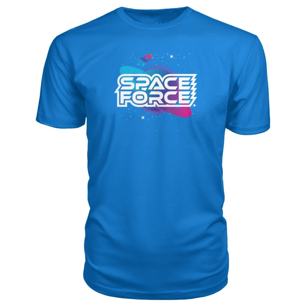 Space Force Premium Tee - Royal Blue / S / Premium Unisex Tee - Short Sleeves