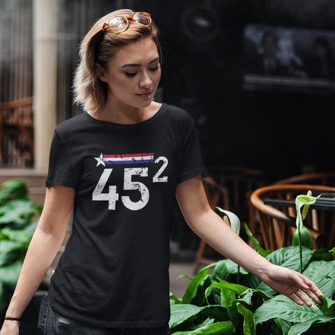 Trump 45 Squared Apparel